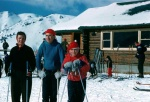Margaret, Gary and Dave learning to ski.jpg