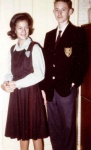 Sue & Dick-School uniforms 1962.jpg