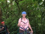 P. Sue dressed for the zip line.jpg