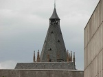15th Century Rathaus Gothic Tower from Altermarkt, Cologne.jpg