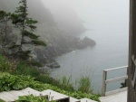 Fog at Beachy Cove, The site of Gary's first Newfoundland home